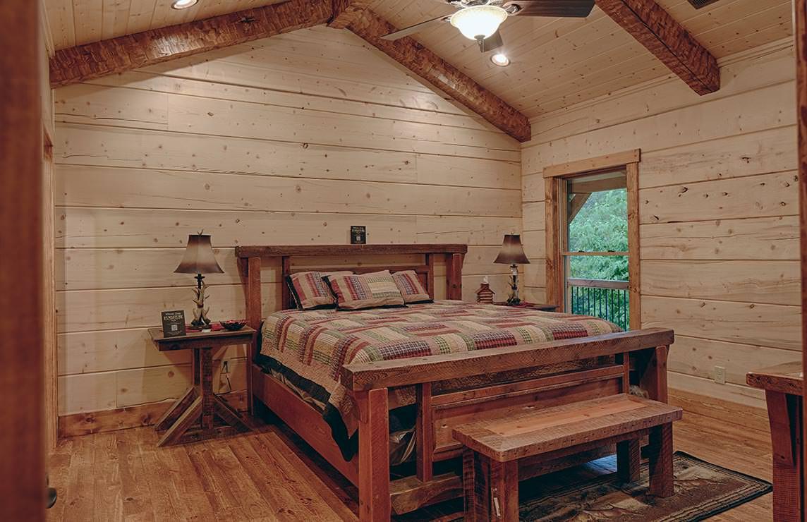 Satterwhite Log Homes Birchwood Floor Plan