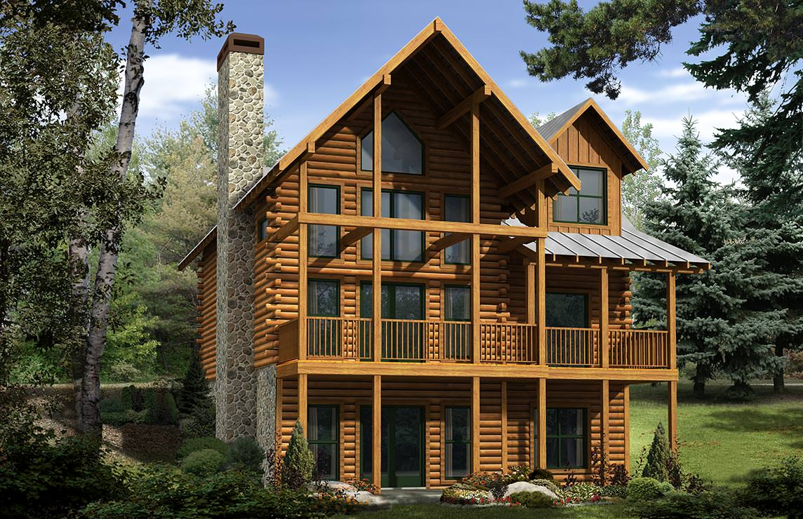 Satterwhite Log Homes Cartecay Floor Plan
