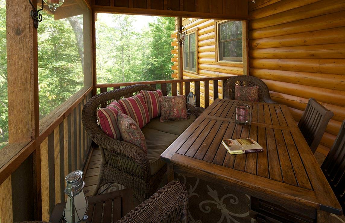 Satterwhite Log Homes Creekside Floor Plan