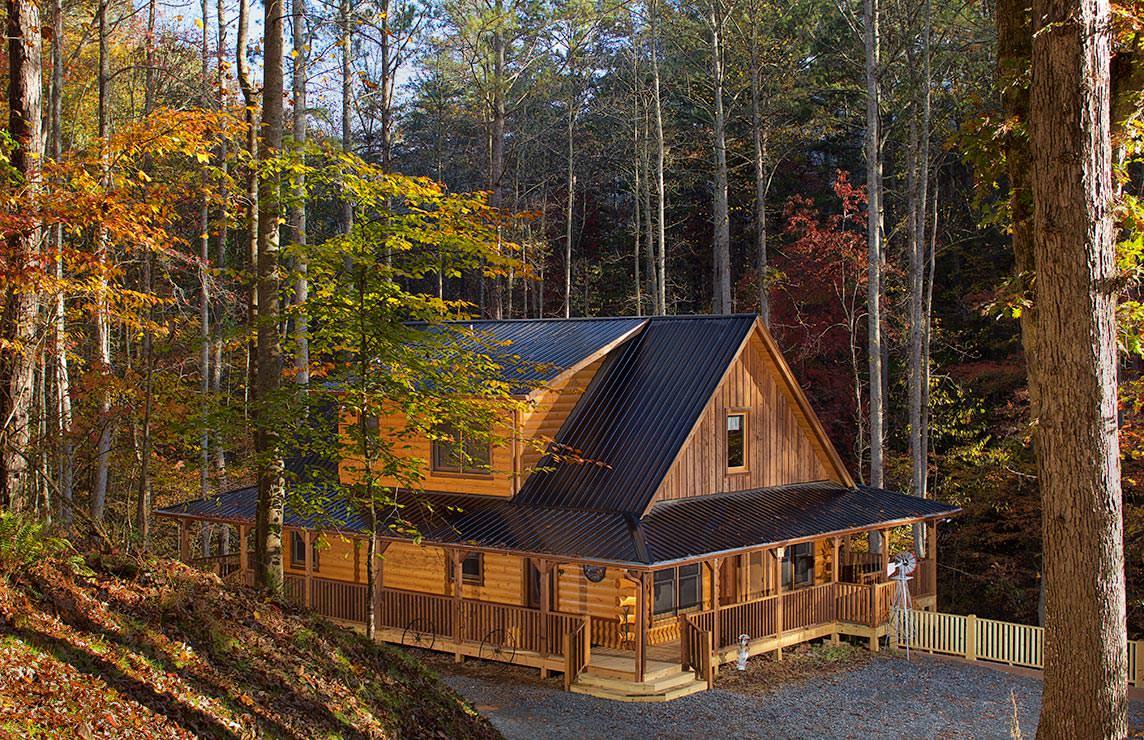 Satterwhite Log Homes Fredericksburg Floor Plan