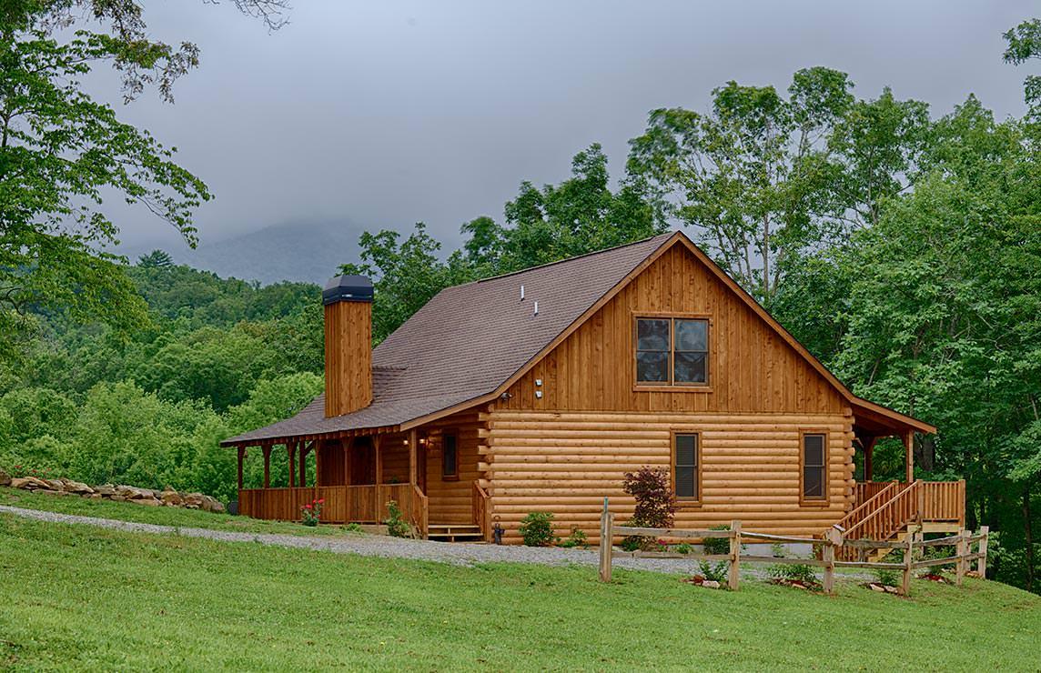 Satterwhite Log Homes Hemlock Floor Plan
