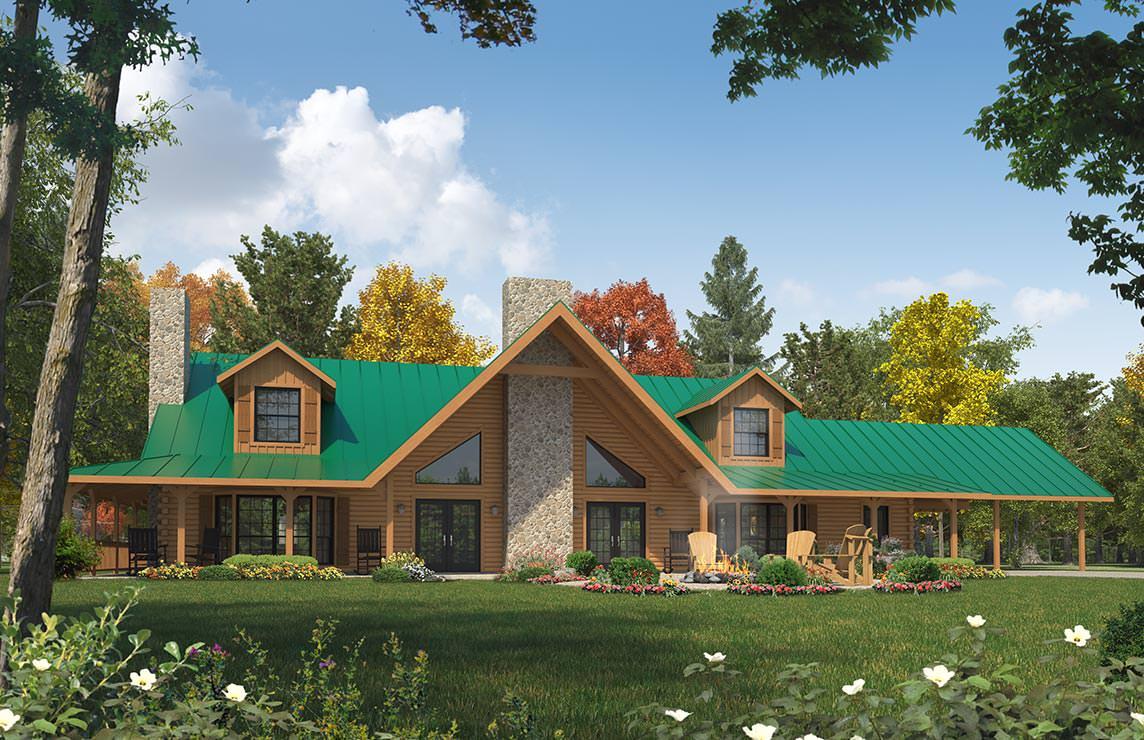 Satterwhite log homes magnolia floor plan - Magnolia homes floor plans ...