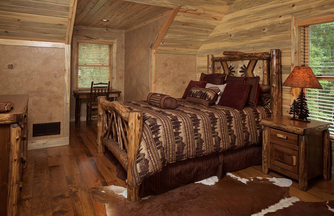 Satterwhite Log Homes Mountain Laurel Floor Plan
