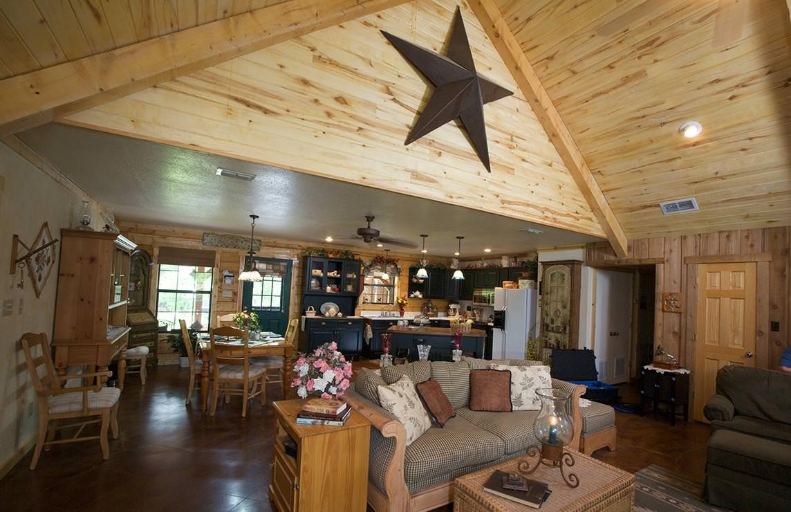 Satterwhite Log Homes Neches Floor Plan