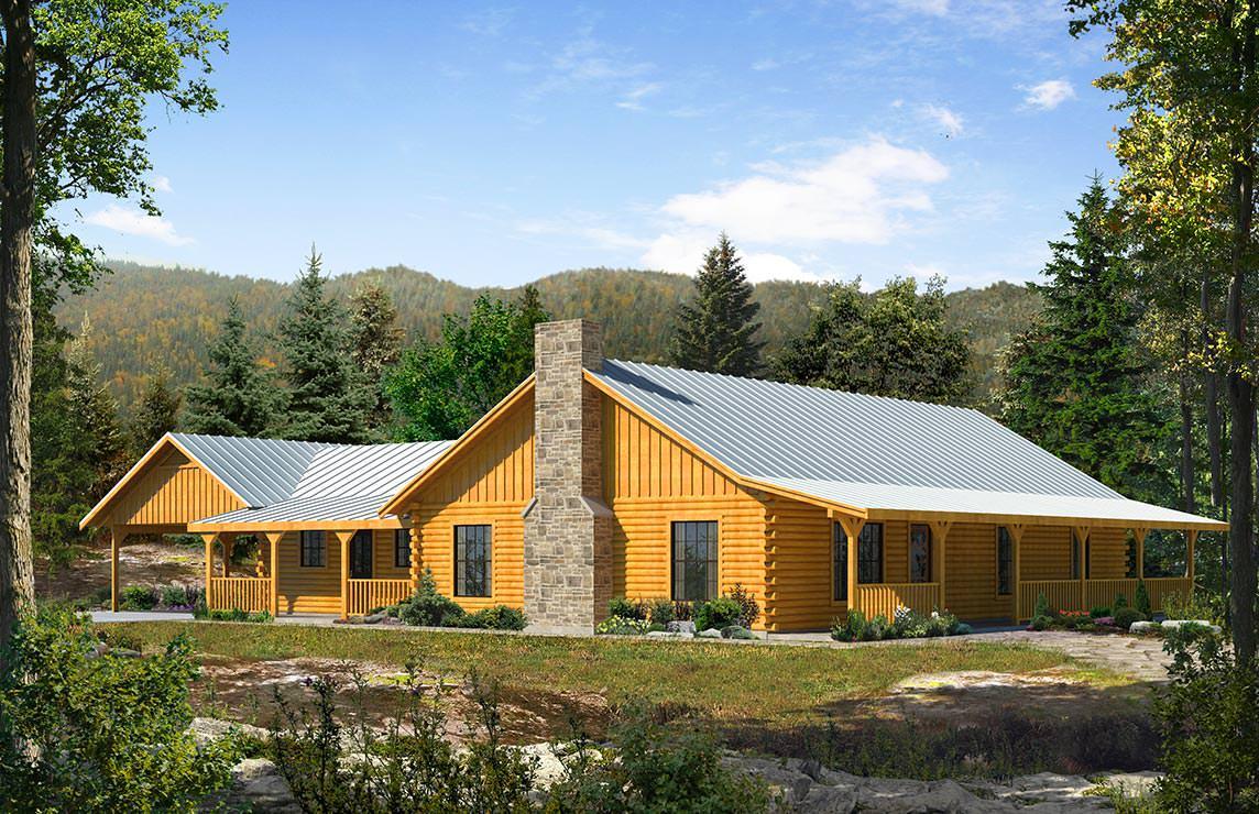 Satterwhite Log Homes Ranger Floor Plan