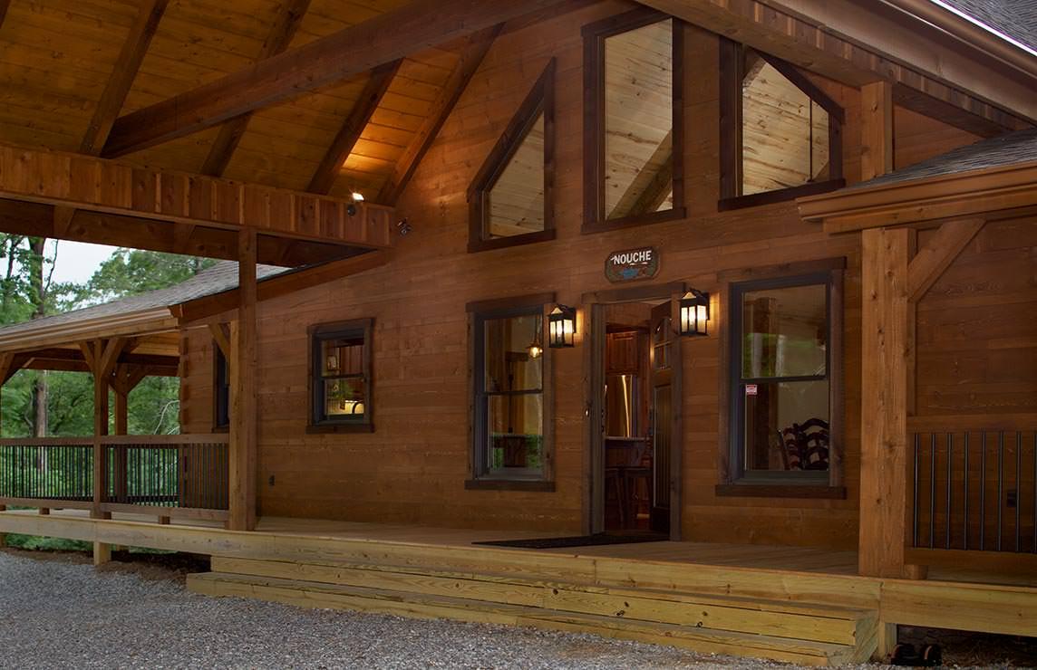 Satterwhite Log Homes River Run Retreat Floor Plan