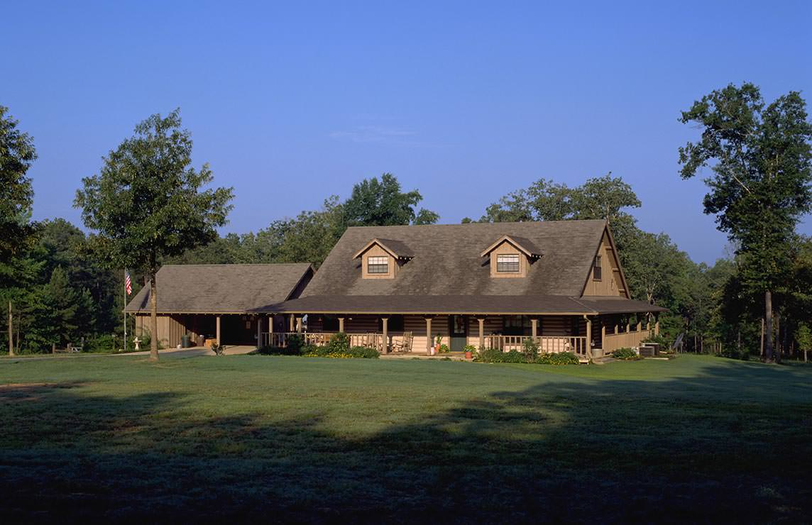 Satterwhite Log Homes Value Savannah Floor Plan